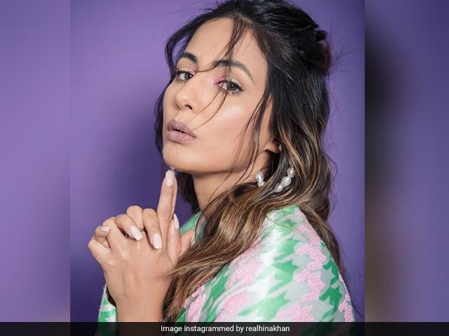 टीवी एक्ट्रेस हिना खान ने कराया फोटो शूट, देखिए तस्वीरें