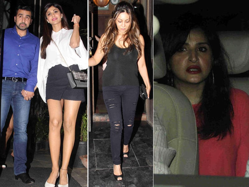Photo : No Monday Blues For Shilpa, Gauri and Their Inner Circle
