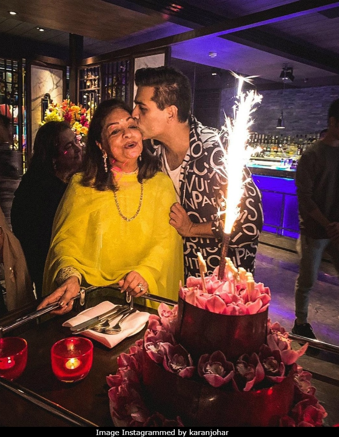 Hiroo Johar Celebrated Birthday With Jaya Bachchan, Sharmila Tagore And Of Course, Karan
