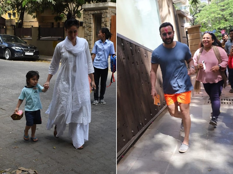 Holi 2020: Inside Kareena Kapoor, Saif Ali Khan And Taimur's Celebrations