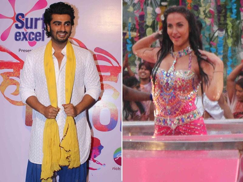 Arjun Kapoor's Holi Date With Elli Avram