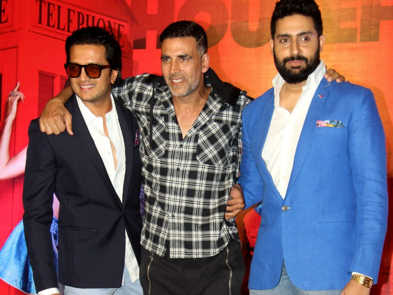 Ekdum Housefull: Riteish, Akshay, Abhishek Launch Film's Trailer