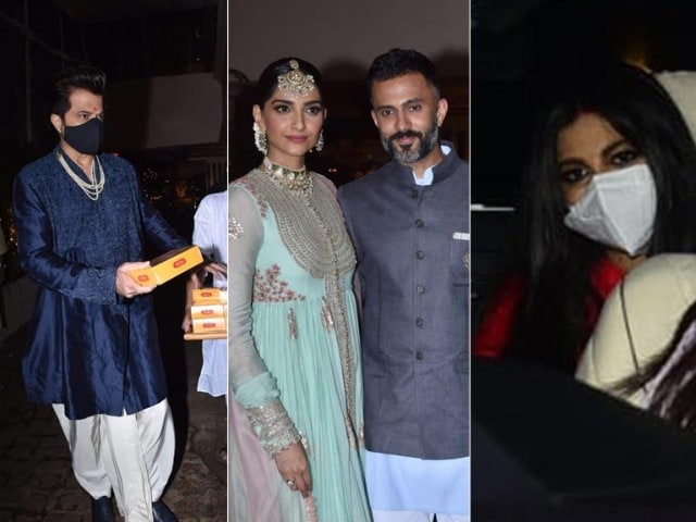 Photo : How Sonam-Anand, Anil Kapoor Lit-Up Rhea And Karan Boolani's Wedding