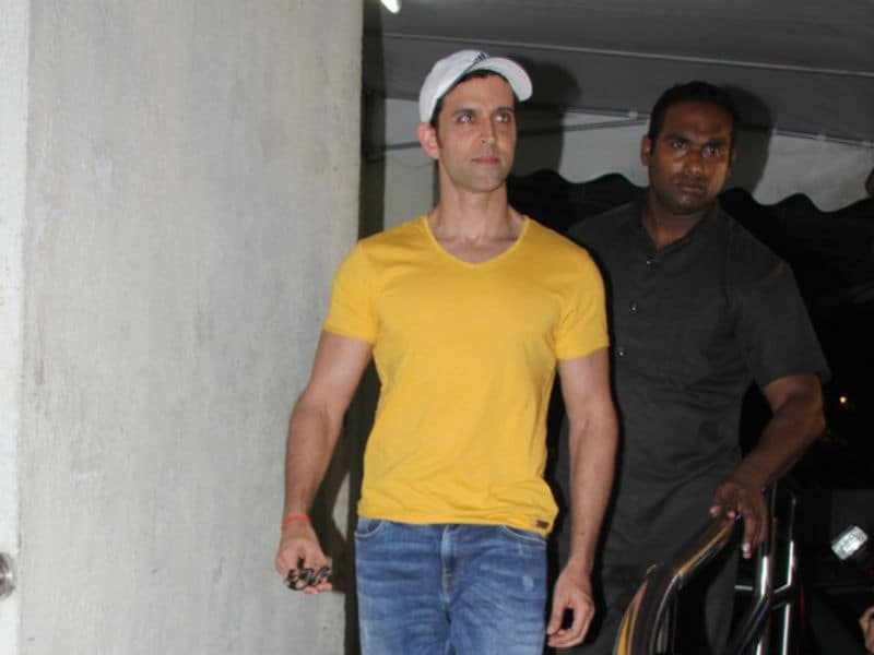 Hrithik Roshan's Monday Movie Outing