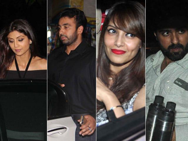 Double Date: Shilpa, Raj, Bipasha, Harman?