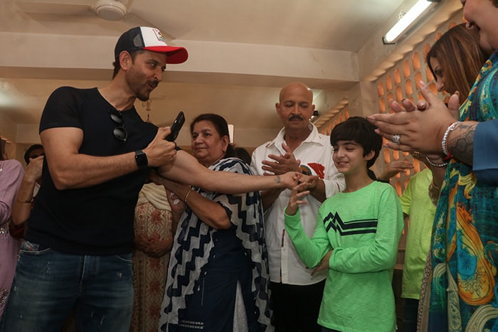 How Hrithik Roshan And Sussanne Khan Celebrated Mahashivratri With Family