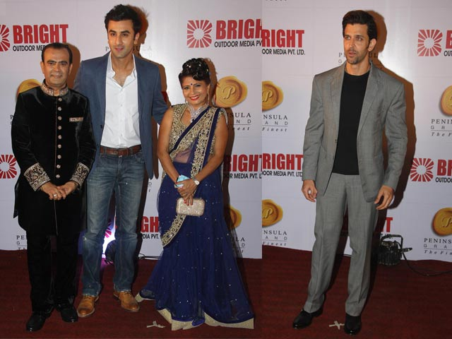 Hrithik Roshan, Ranbir Kapoor Start the Party