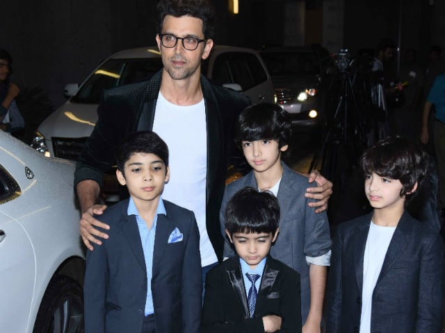 Hrithik Roshan's Sons Headline Mom Sussanne's Party