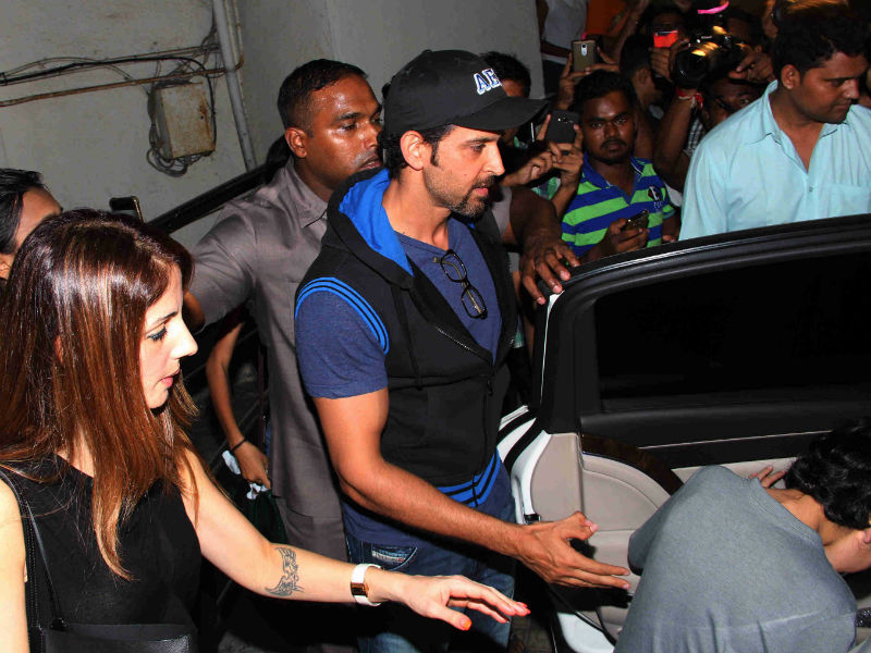 Hrithik Roshan, Sussanne's Movie Date With Their Son