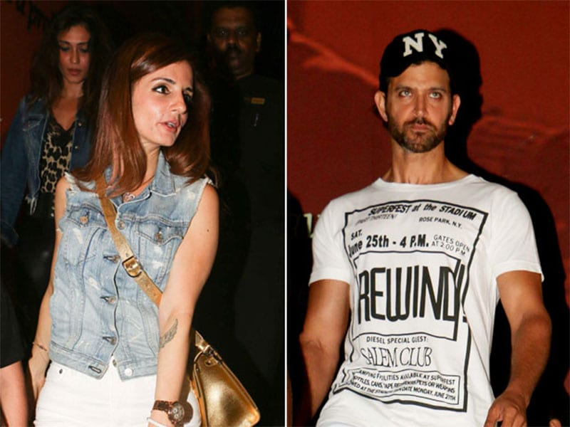 Photo : Hrithik Roshan And Sussanne Khan Take Kids Out For A Movie