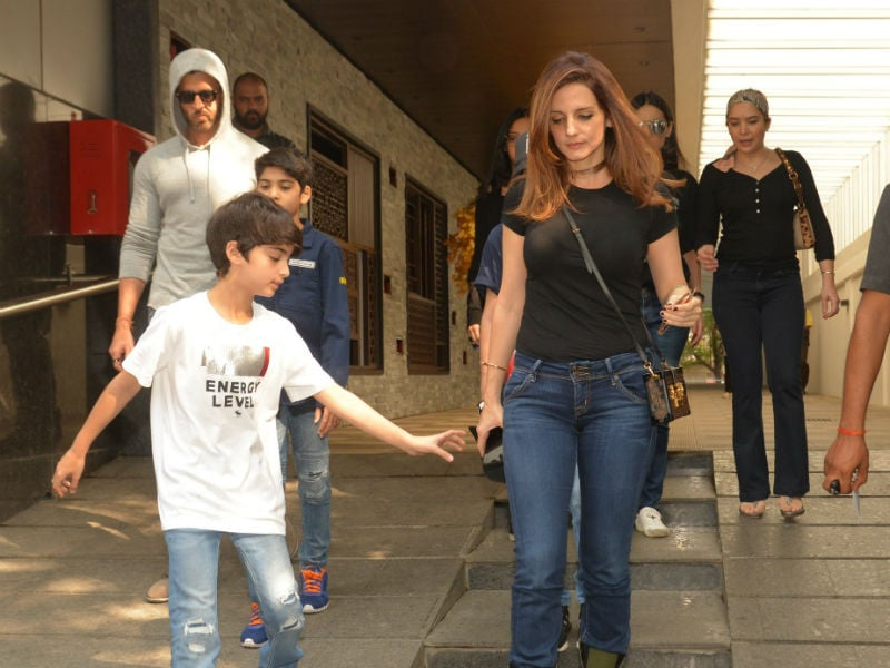 A Sunday Well-Spent For Hrithik And Sussanne
