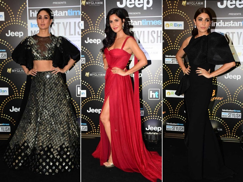 Kareena, Katrina And Anushka Rule The Red Carpet At HT India's Most Stylish Awards