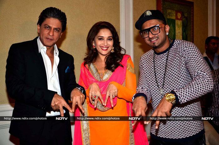 Saturday night live: SRK, Madhuri, Bipasha