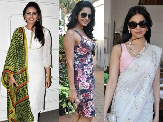 Sunday best: Huma, Rakul, Divya