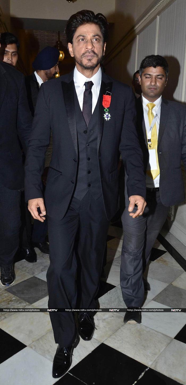 A Khan-tastic French Honour for SRK