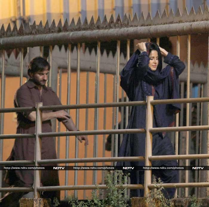 A Glimpse of the Phantoms: Saif Ali Khan, Katrina Kaif