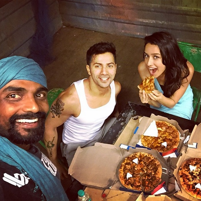 Shraddha and Varun Have a Pizza Party