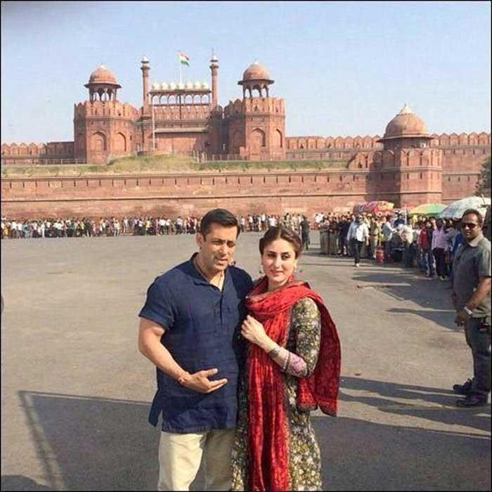 Salman, Kareena\'s Dilli Darshan Continues