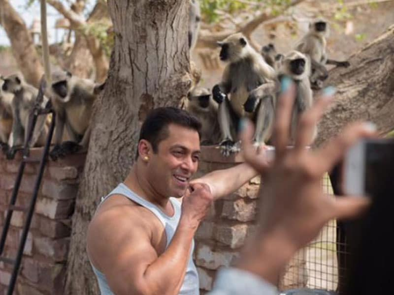 Salman's Star-Struck 'Fans' on the Sets of Prem Ratan Dhan Payo