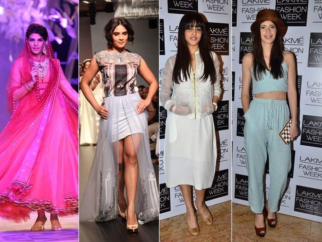 Jacqueline, Richa, Genelia, Kalki: Beauties on vs off the ramp