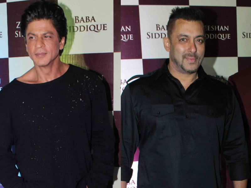 Shah Rukh, Salman, Once Again At Baba Siddique's Iftaar Party