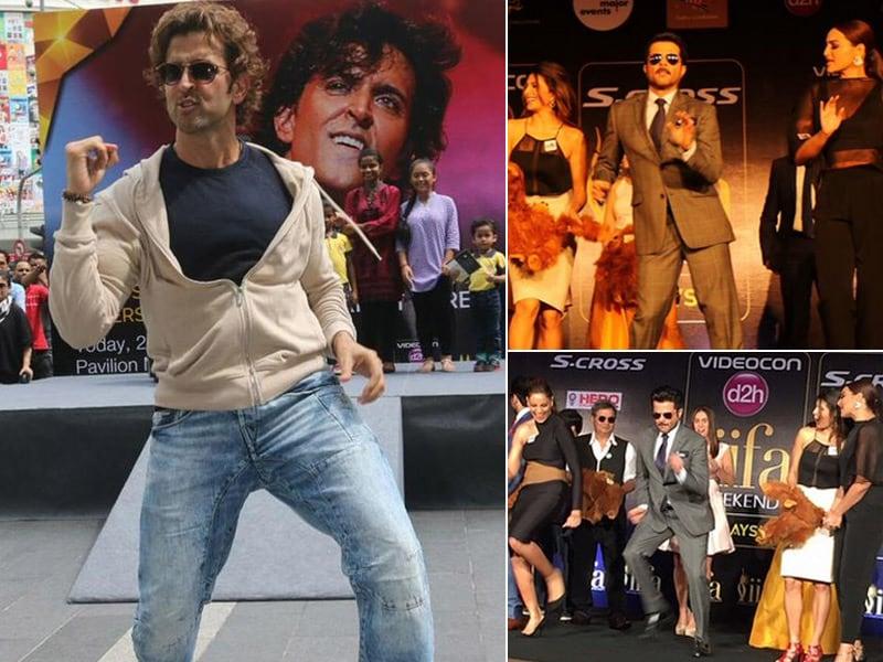 Photo : At IIFA, It's Showtime With Hrithik, Anil Kapoor, Bipasha, Sonakshi