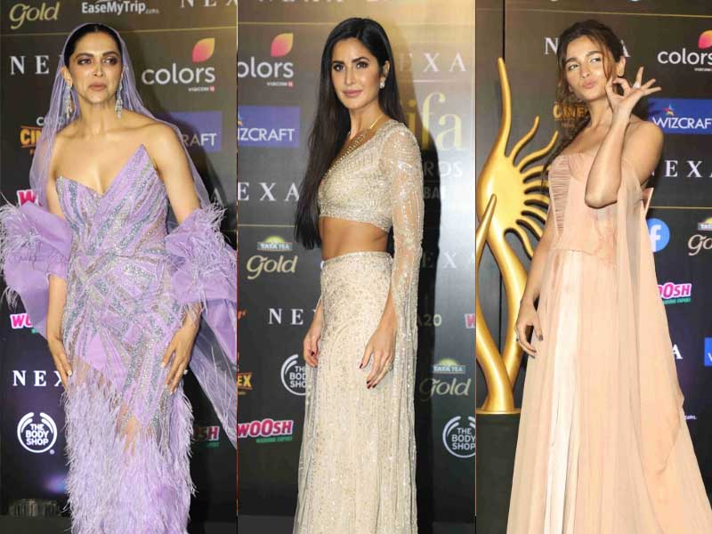 IIFA Awards 2019: Deepika Padukone, Katrina Kaif, Alia Bhatt, Sara Ali Khan Dazzle On Green Carpet