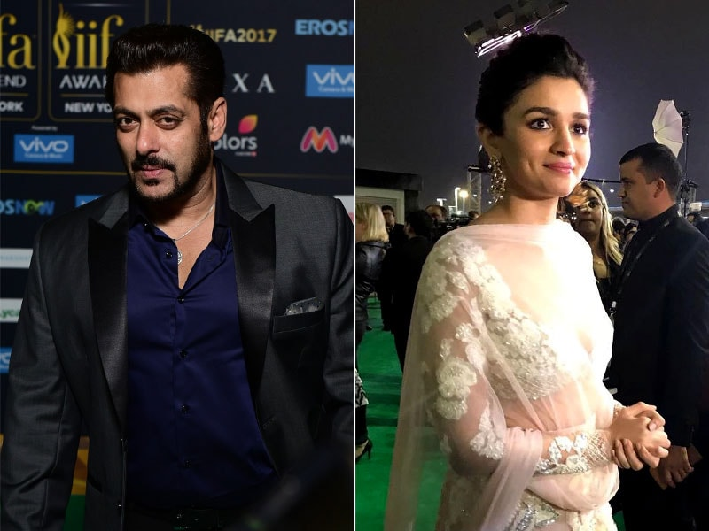 IIFA Awards 2017: Salman, Alia Rock The Green Carpet