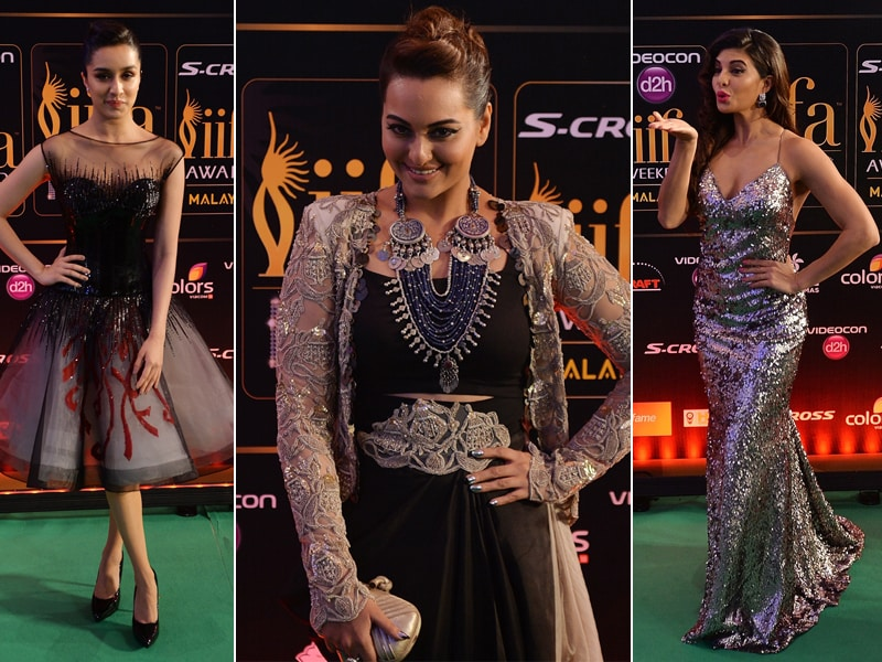 IIFA 2015: Sonakshi, Shraddha, Jacqueline Rock the Green Carpet