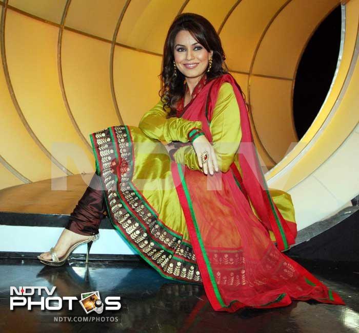 Spotted: Mahima Chaudhry and Sachin Pilgaonkar