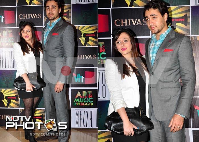 Imran, Avantika\'s fashionable night out