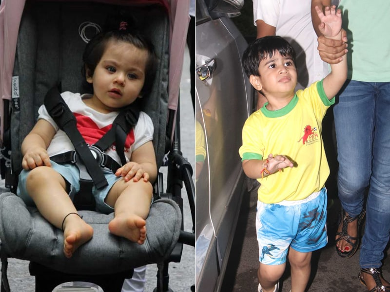 Adorable Pics Of Inaaya And Lakshya Will Drive Away Your Mid-Week Blues