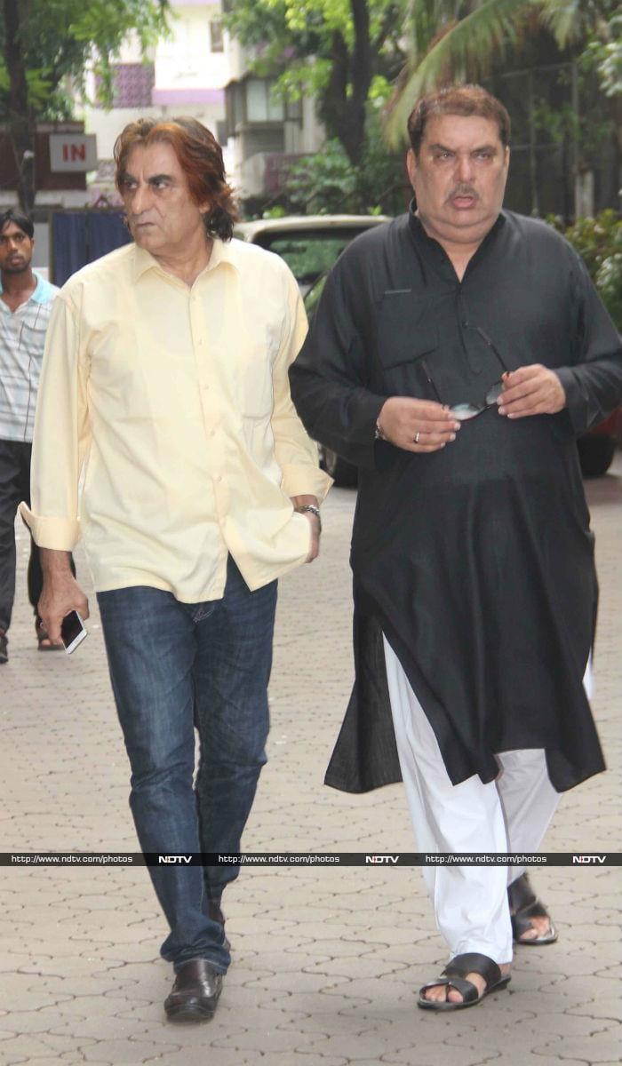 At Inder Kumar\'s Prayer Meet