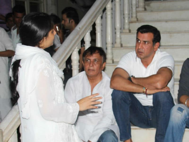 At Inder Kumar's Prayer Meet