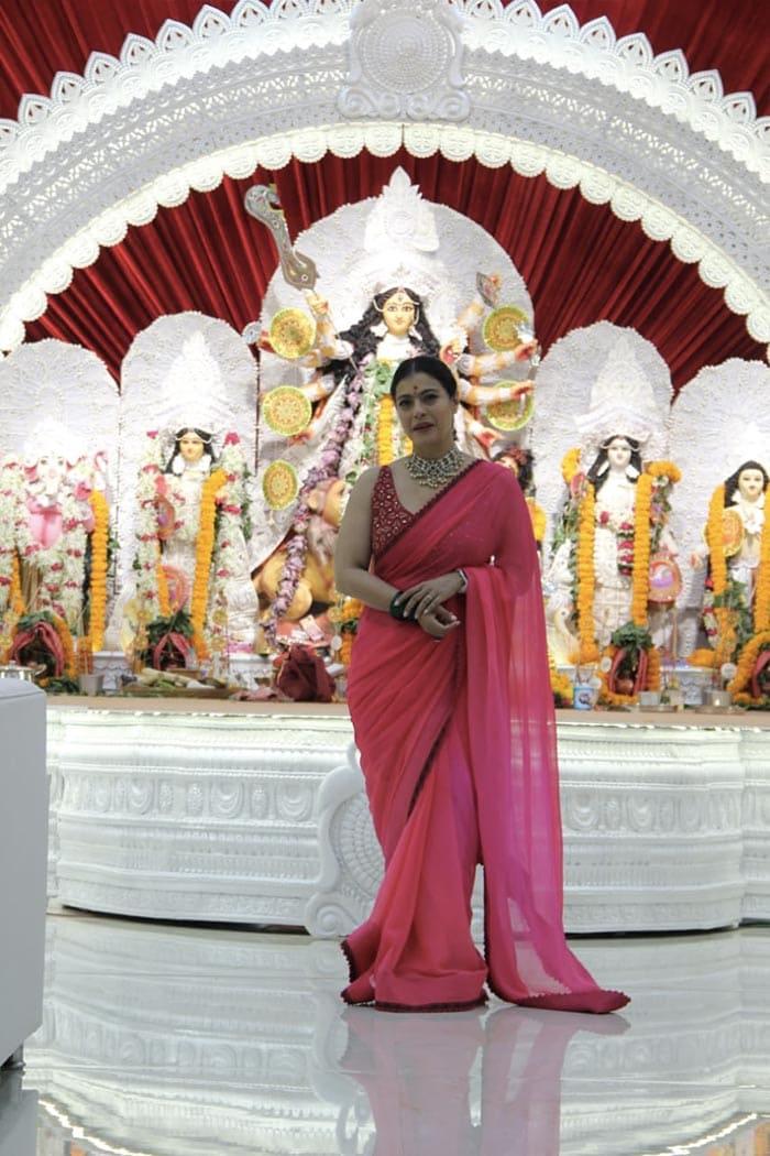 Inside Kajol\'s Durga Puja Celebrations