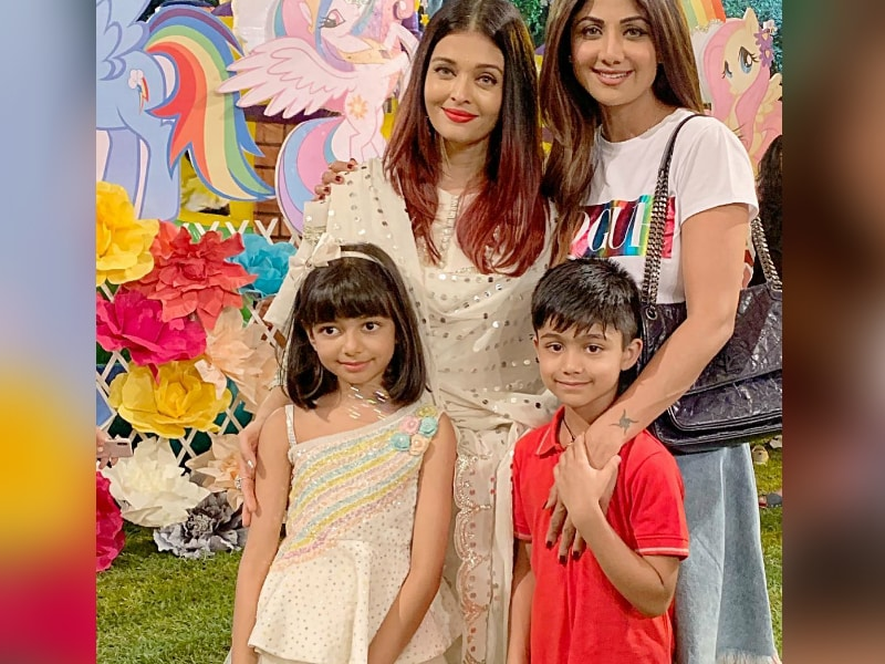 Aaradhya's Birthday Bash With AbRam, Nitara, Viaan And Chillar Party