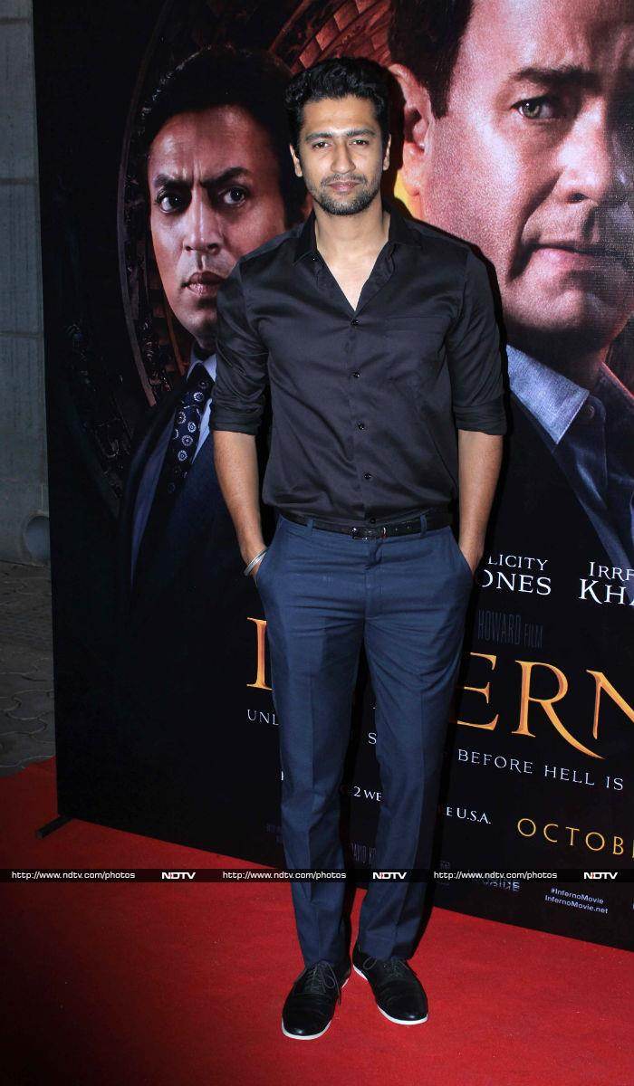 Irrfan Khan\'s Inferno Premiere Catches Bollywood\'s Attention