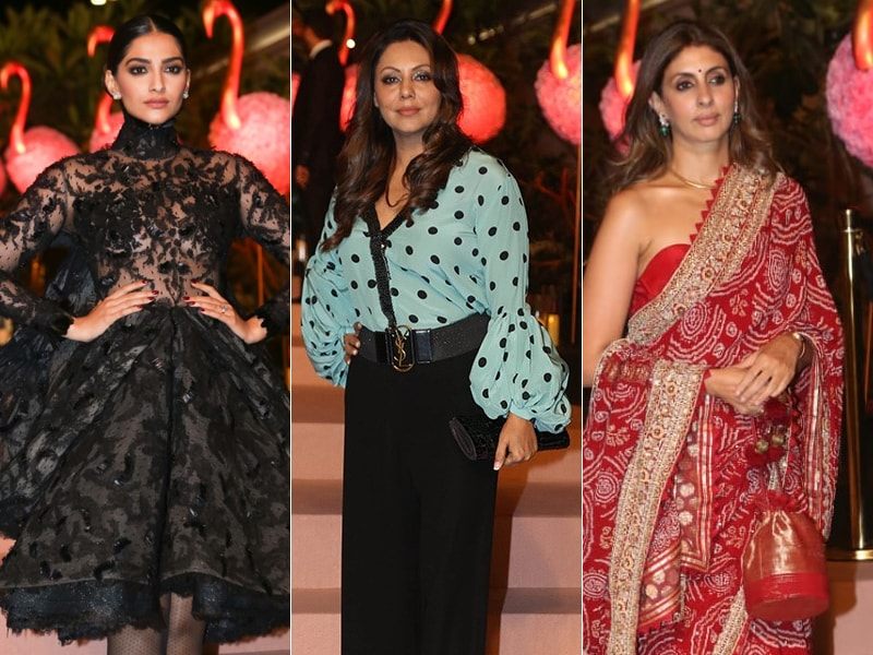 Sonam Kapoor, Gauri Khan And Shweta Bachchan Nanda Add Star Dust To Isha Ambani's Charity Event