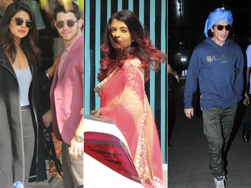 A Sky Full Of Stars With Priyanka-Nick, Aishwarya, SRK And Others