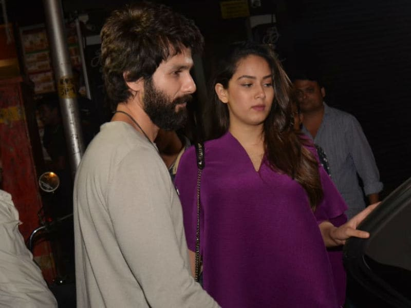 Star Spotting At Ishaan's Birthday: Shahid, Mira And Janhvi