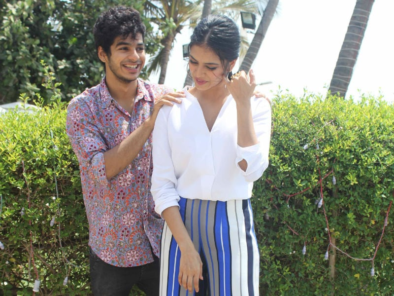 Some Really Cute Pics Of Ishaan Khatter, Malavika Mohanan