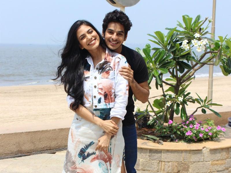 Ishaan Khatter And Malavika Mohanan Look Cute Together