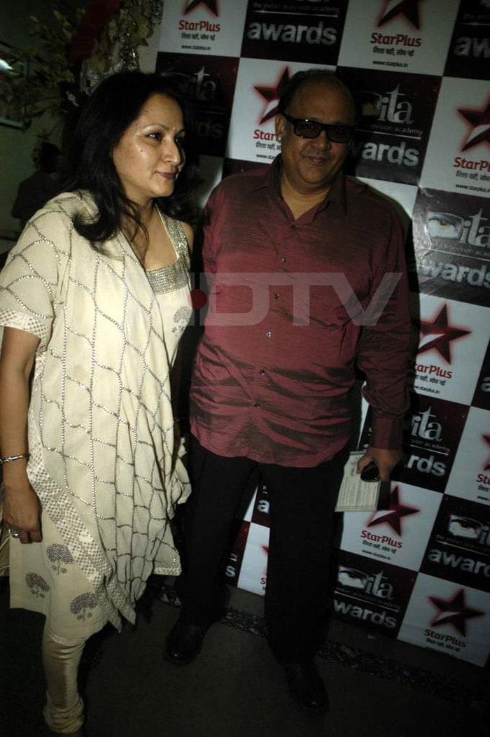 TV stars at ITA Milestone Awards