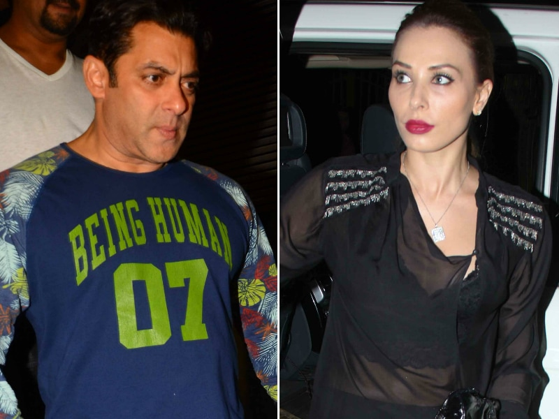 Iulia Vantur Spotted At Salman Khan's Tubelight Party