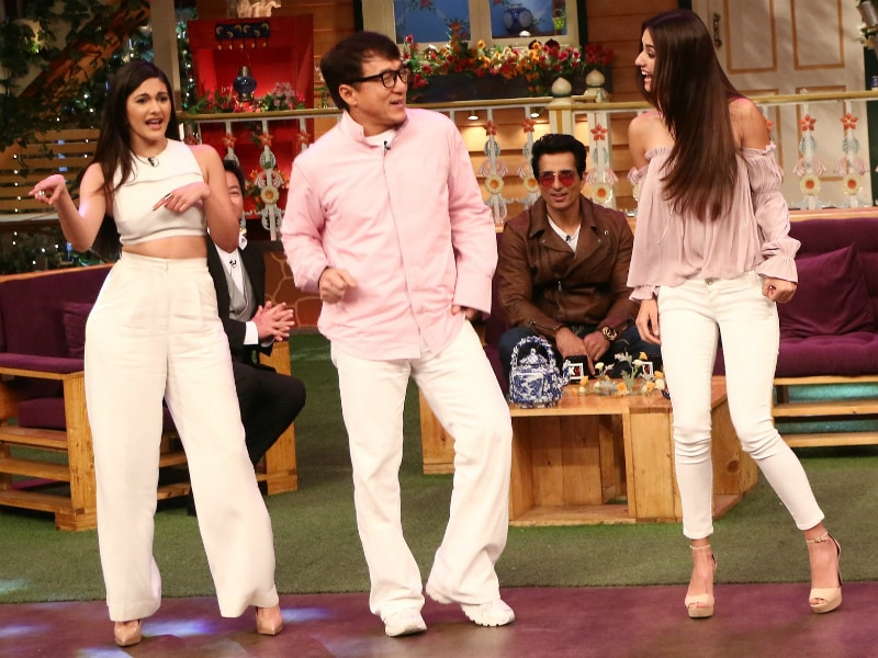 Jackie Chan's Kung Fu Yoga On The Kapil Sharma Show