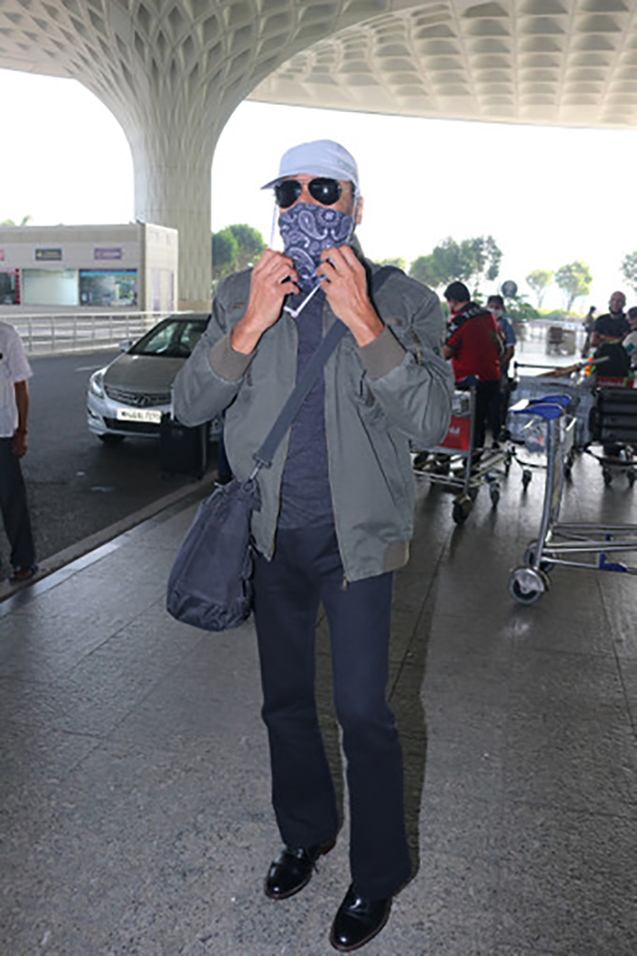 The New Airport Look: Guess This Actor Behind The Mask