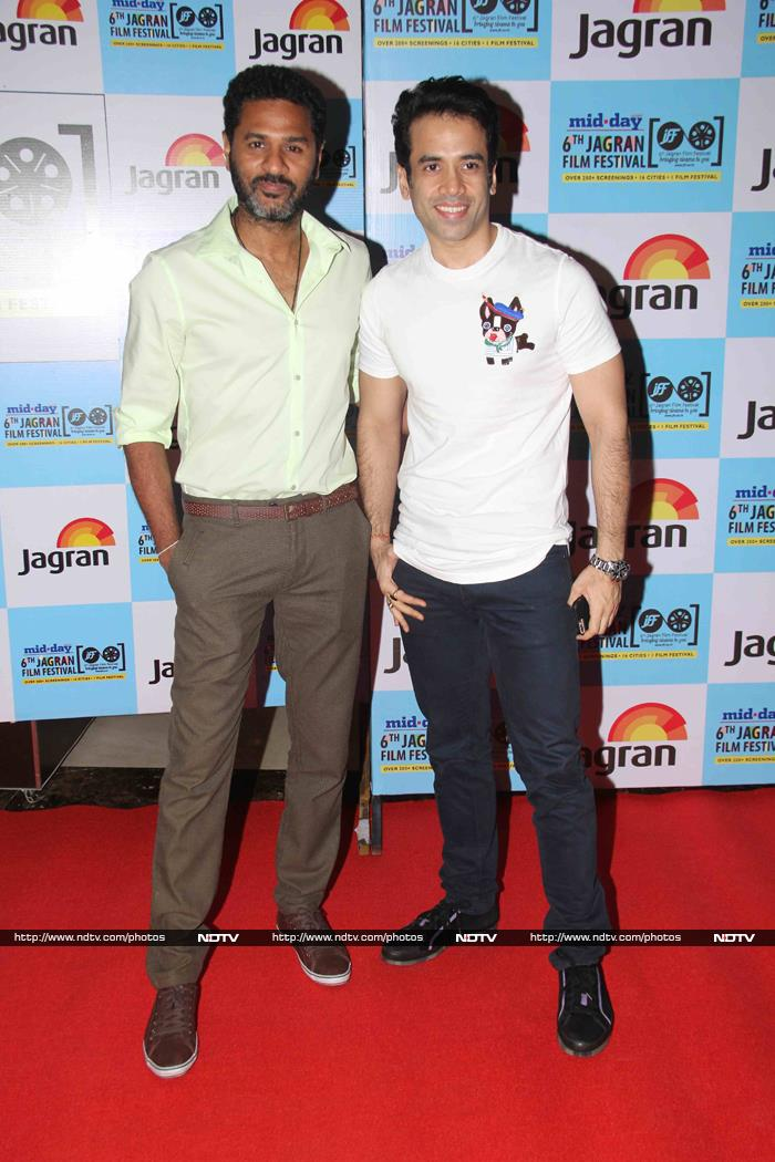 Shashi Kapoor Receives Lifetime Award at Jagran Film Fest