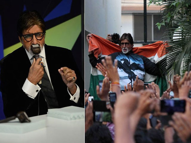 Big B's Sunday Best: Cricket Talk and Jalsa Fans