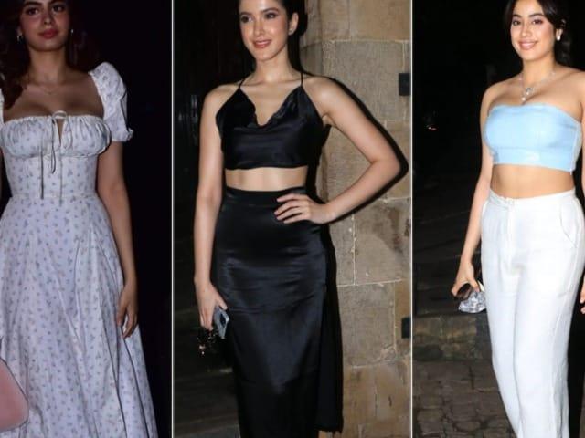 Photo : Janhvi, Khushi, Shanaya And Others At Rhea Kapoor And Karan Boolani's Wedding Reception