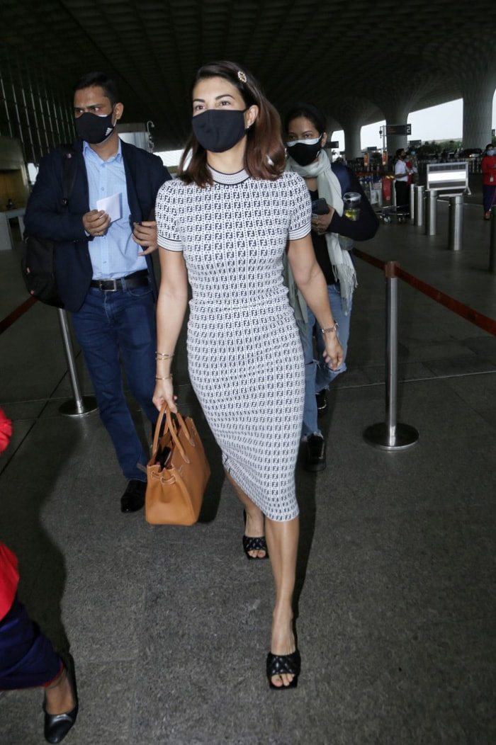 Jet, Set, Go: Janhvi And Jacqueline At The Airport